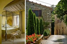 Romantic Italian Hotels in Tuscany, Florence, and beyond : News, Culture + Travel : Architectural Digest