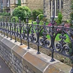 Wrought Iron Fences Terrace terrace cast iron fencing limited stock heritage cast Source: website roof terrace railings titan forge So.