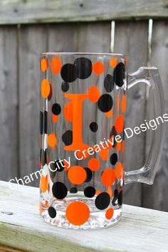 Personalized Beer Mugs-bengals, browns, orioles, flyers, oklahoma state, nascar groomsmen gifts on Etsy, $12.00