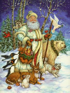 Santa--- Christmas By Donna Race