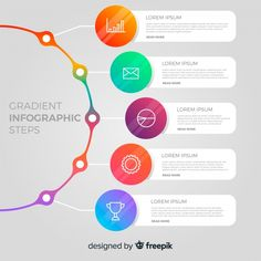Timeline infographics design vector and marketing icons can be used for workflow layout, diagram, annual report, web design. Business concept with options, steps or processes. Infographic Powerpoint, Timeline Infographic, Infographic Templates, Infographics Design, Diagram Design, Chart Design, Powerpoint Design Templates, Web Design, Steps Design