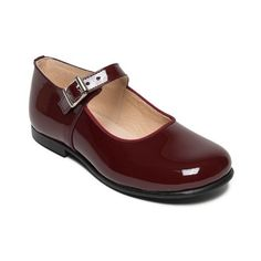 Yolaine burgundy Marie Jane shoes for flower girls and special occasions - Little Eglantine Little Girl Shoes, Girls Shoes, Ladies Shoes, Kid Shoes, Designer Flower Girl Dresses, Shiny Shoes, Clean Shoes, Burgundy Shoes, Blue Shoes