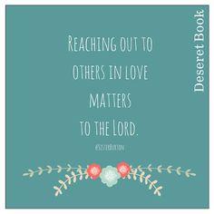 Love matters. #SisterBurton #LDSconf