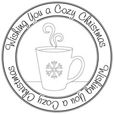 cozy christmas mug sentiment freebie - bjl