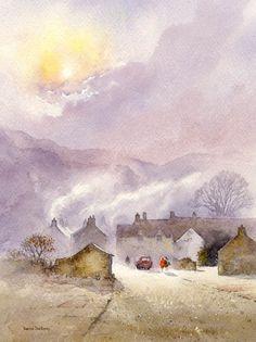 DavidBellamyArt: Painting skies, light & atmosphere