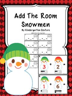 This Snoman theme add the room has a number on each snowman with a ten frame below to help students to add sums up to 10. There are 10 half page posters to copy and laminate and hang around the room. Students will take a recording sheet and clipboard and walk around the room writing the addition problem and answer on the recording sheet.Chinese New Year Write The RoomAdd The Room Winter HatsScrambled Sentence Worksheets -January
