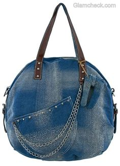 Denim handbags-2