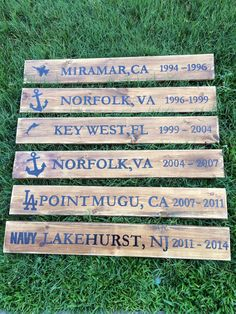Personalized Wooden Military Wall Décor by TheLoveLeeHome on Etsy ❤️❤️