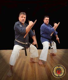 Tonfa practice at Kenyukan
