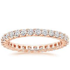 14K Rose Gold Devota Diamond Ring from Brilliant Earth