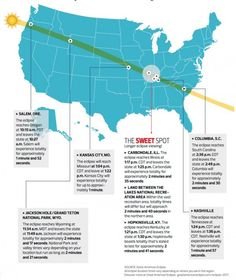 View larger. | Some things to think about in choosing a place to view the August 21, 2017 total solar eclipse.