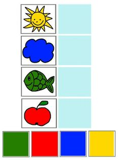 Learning Numbers Preschool, Preschool Learning Activities, Free Preschool, Color Activities, Preschool Worksheets, Toddler Activities, Preschool Coloring Pages, English Lessons For Kids, Winter Crafts For Kids