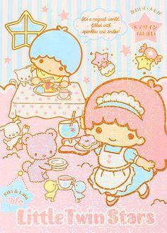 【2012】Letter Book (¥294) ★Little Twin Stars★
