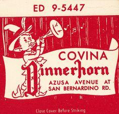 Dinnerhorn Restaurant, Covina by jericl cat, via Flickr