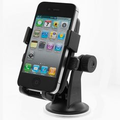 iOttie One-Touch Windshield Dashboard Car Mount Holder for iPhone 4S 4 3GS Samsung Galaxy S2 Epic Touch 4G HTC EVO 4G Rhyme DROID RAZR BIONIC INCREDIBLE 2 CHARGE Google Nexus BlackBerry Torch LG Revol