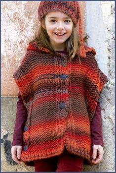 crochet poncho kids Gl desenin yakmad hi bir modele daha nce tanklk etmedik. Hanmlarn severek kulland gl deseni ve iek deseni ile hazrlanm 29 t oyas Knitting For Kids, Baby Knitting Patterns, Crochet For Kids, Free Knitting, Crochet Baby, Knit Crochet, Crochet Patterns, Baby Sweaters, Knitwear
