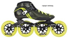 2012 Powerslide Vision Inline Speed Skates, Roller Skating, Miller Sandal, Rollers, Skateboard, Smartphone, Hobbies, Wheels, Dragon