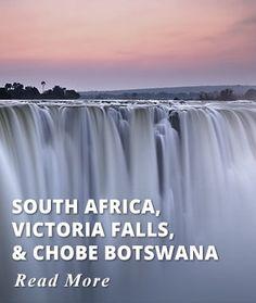 South Africa - Victoria Falls - Chobe Tour