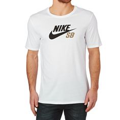 Men's Nike Skateboarding T-Shirts - Nike Skateboarding Dri Fit Icon Logo T- shirt