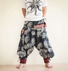 Samurai Warrior Tribal Harem Ninja Pants Hmong by AmazingThaiStore, $36.00