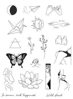 Buraka Tattoo, Hand Tattoos, Stick Tattoo, Doodle Tattoo, Dainty Tattoos, Line Art Tattoos, Tattoo Outline, Cute Tattoos, Tattoo Drawings