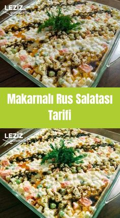 Macaroni Russian Salad Recipe- Russian Salad Recipe with Pasta . Lunch Recipes, Appetizer Recipes, Russian Salad Recipe, Dinner Sandwiches, Bite Size Appetizers, Pasta Salad Recipes, Easy Chicken Recipes, Food Design, Food To Make