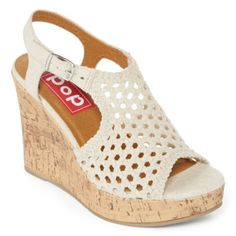1ed523039a393 Weave a fantastic look into your day with our wedge sandals