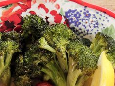 Roasted Lemon-Chile Broccoli recipe from Ree Drummond via Food Network