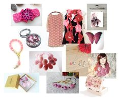 """""""A touch of pink"""" by torijaink ❤ liked on Polyvore"""
