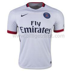 Nike Paris Saint-Germain Away Soccer Jersey (White Navy). fussball trikots 638e96035
