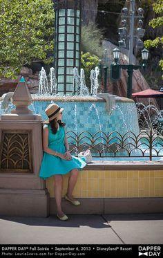 Dapper Day Disneyland Feb. 23, 2014