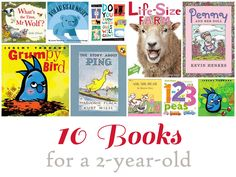 10 Books for a 2-year-old