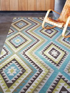 Kilim Weave – Nomad by Armadillo and Co | handmade fair trade rugs