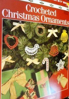 Crocheted Christmas Ornaments Leisure Arts 617, Crafts :: Needlecrafts & Yarn :: Crocheting & Knitting :: Books & Instructions - Crochet / Knitting Patterns :: Bullszi.com