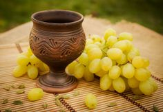 Handmade ceramic wine goblet - BrightClay (Ukraine)