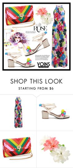 """""""Yoins 7. / III"""" by amra-sarajlic ❤ liked on Polyvore featuring Wild Rose, yoins, yoinscollection and loveyoins"""
