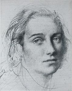 Pietro Annigoni, Ink Ms. Forbes