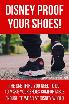 Disney World is awful on your feet! Find out how this one simple trick can make any pair your go-to shoes for Disney World! Disney World Tips And Tricks, Disney Tips, Disney Cruise, Disney Love, Disney Magic, Disney Travel, Disney Secrets, Disney Parks, Orlando Disney