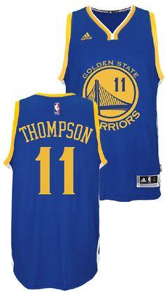 Klay Thompson Youth Golden State Warriors Adidas Blue Replica Basketball  Jersey  49.95 Nba Golden State Warriors c725e417e
