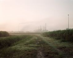 Sugar Cane Refinery Cancer Alley, Richard Misrach. Inspiration on True Detective.