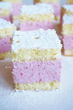 Confectionery, Vanilla Cake, Jello, Cake Recipes, Cheesecake, Food And Drink, Cooking Recipes, Sweets, Cookies