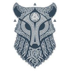best ideas about Norse tattoo Fenrir Tattoo, Norse Tattoo, Celtic Tattoos, Wolf Tattoos, Warrior Tattoos, Armor Tattoo, Celtic Wolf Tattoo, Celtic Tattoo Symbols, Wolf Tattoo Back