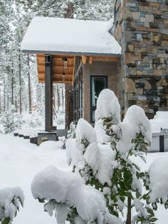 Winter wonderland, on-location from #HGTVDreamHome 2014  http://www.hgtv.com/dream-home/snow-pictures-from-hgtv-dream-home-2014/pictures/page-27.html?soc=pindream