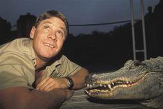 Steve Irwin. :)