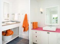 Floor tile--NANTUCKET HOUSE - Lynn Morgan Design