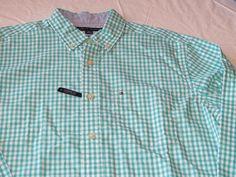 Tommy Hilfiger dress shirt 7871240 Turkish Stone 443 S classic Men's long sleeve #TommyHilfiger #ButtonFront