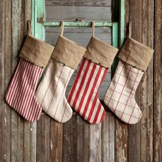 Park Hill Collection Vintage Style Stockings (Set-4) - DS1569