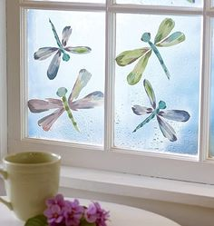 Dragonflies wall decals - $7.99 for a pack of 25 by maria.interest