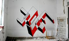 Jote, Geometric Forms, Poland - unurth | street art