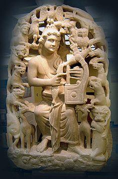 Figura 23 : A história clássica da Mitologia Grega sobre a Lira de Orfeu, filho de Apolo.
